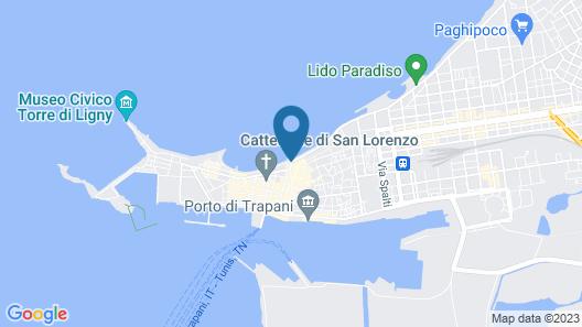 Residence La Gancia Map