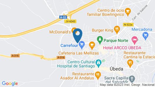 Rl Ciudad De Ubeda Map