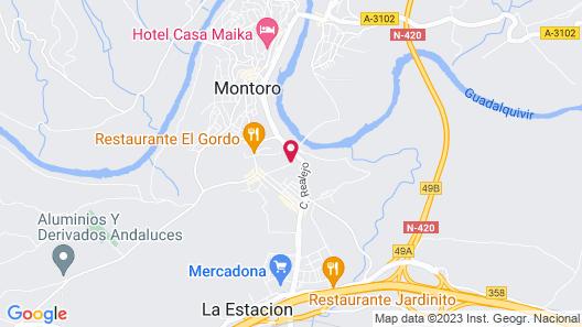 Hotel Mirador de Montoro Map