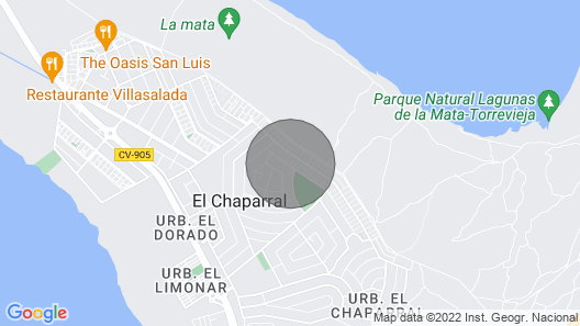 2 Bedroom Accommodation in Torrevieja Map