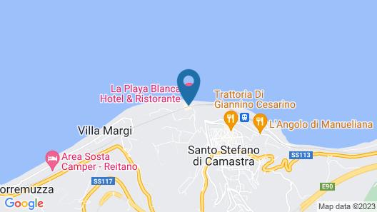Hotel La Playa Blanca Map