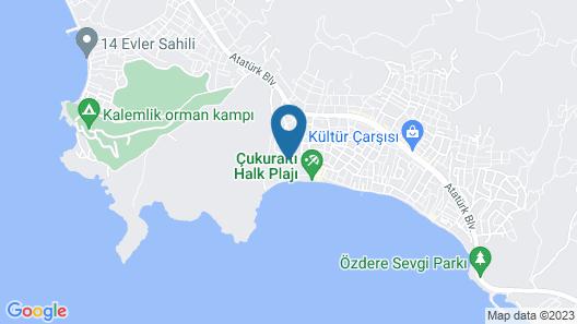 Paloma Pasha  Map