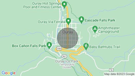 St. Elmo Hotel Map