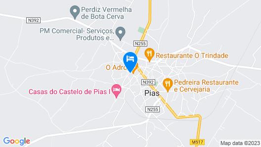 Bética Hotel Rural Map