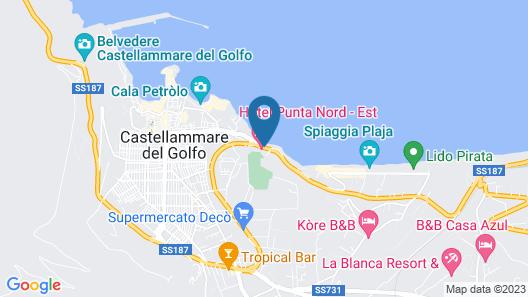 Hotel Punta Nord-Est Map