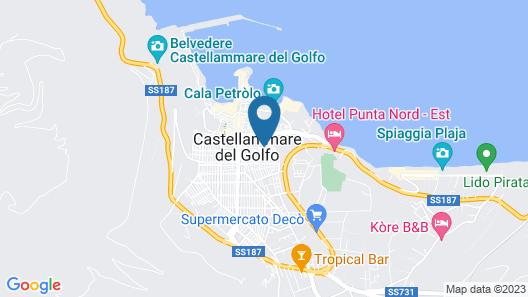 Sette Veli Apartments Map