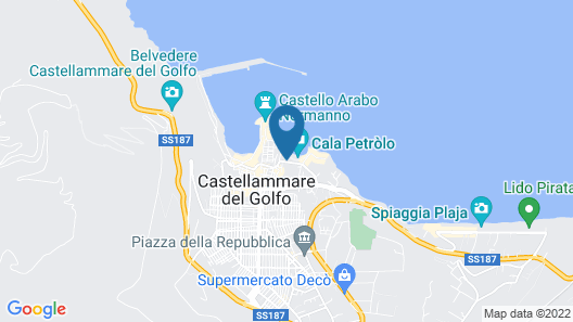 Marina di Petrolo Hotel & Spa Map