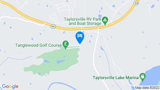 Tanglewood Golf Course Map