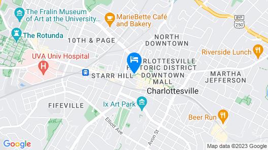 Omni Charlottesville Hotel Map