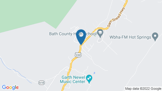 Roseloe Motel Map
