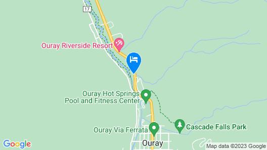 Hot Springs Inn Map