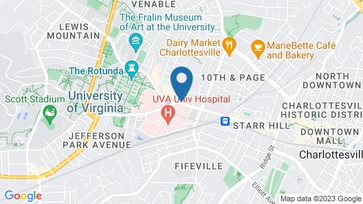 Dinsmore Boutique Inn Map