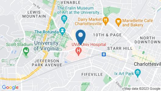 Graduate Charlottesville Map