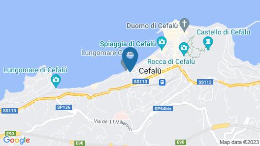 Villa Gaia Hotel Map