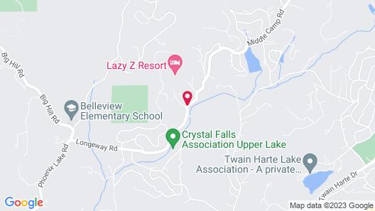 Lazy Z Resort Map