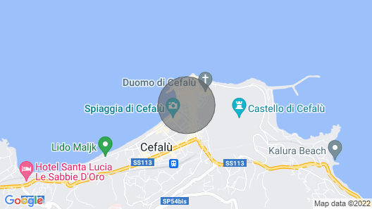 Relax House Cefalu ' Map