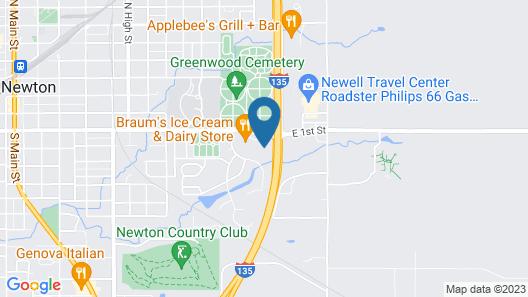 Red Coach Inn Map