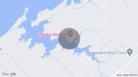 Kingsbay Mansion Executive Bed & Breakfast Map