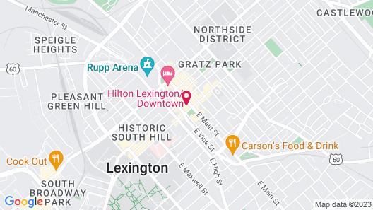 Residence Inn by Marriott Lexington City Center Map