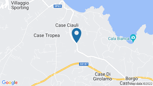 Appartamento Calarossa Map