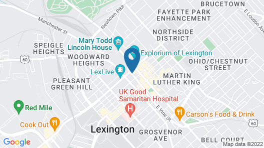 Hilton Lexington/Downtown Map