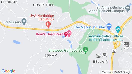 Boar's Head Resort Map