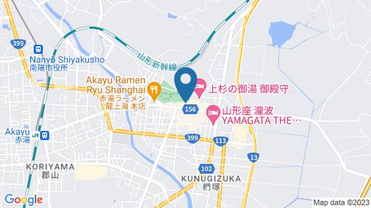 Ryokan Yamatoya Map