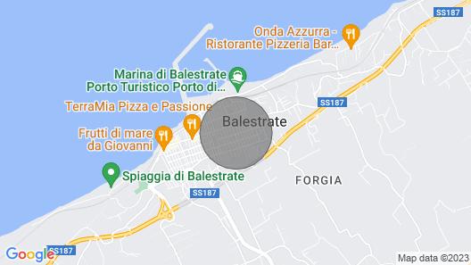 Residence Valentina, Balestrate Map