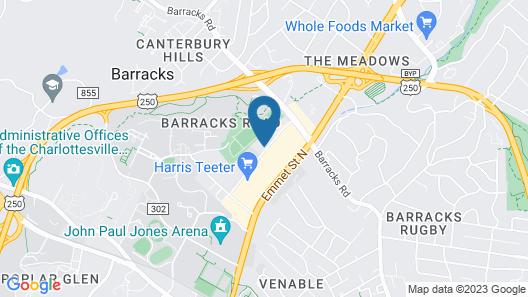 Sonesta ES Suites Charlottesville Map