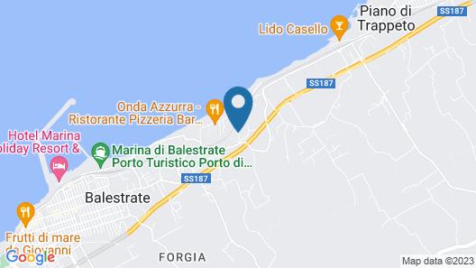 Costa Azul Map