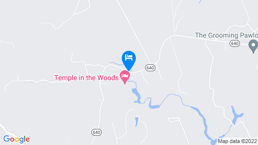Temple in the Woods Map