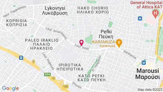 Easy.gr Map