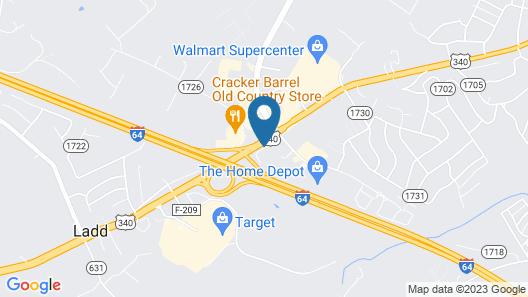 Days Inn by Wyndham Waynesboro Map
