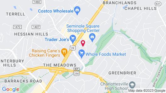 Homewood Suites by Hilton Charlottesville, VA Map