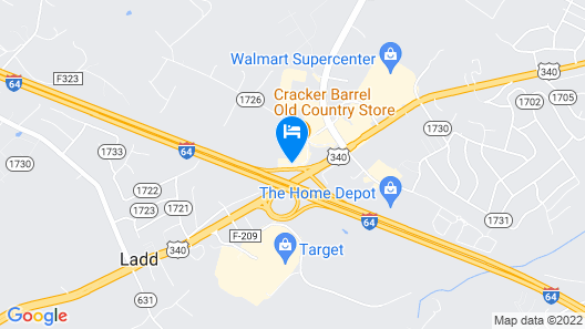 Best Western Plus Waynesboro Inn & Suites Conference Center Map