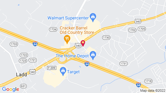 Residence Inn Marriott Waynesboro Map