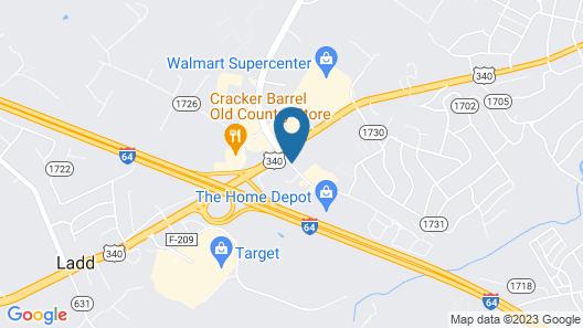 Residence Inn Marriott Waynesboro Map