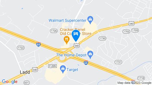 Super 8 by Wyndham Waynesboro Map