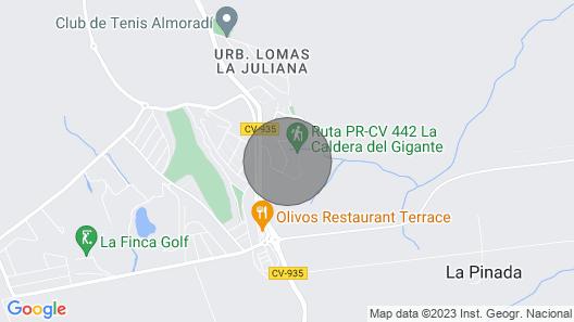 Apartment Bella Vista, Algorfa Map