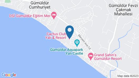 Club Yali Hotels & Resort - All Inclusive Map