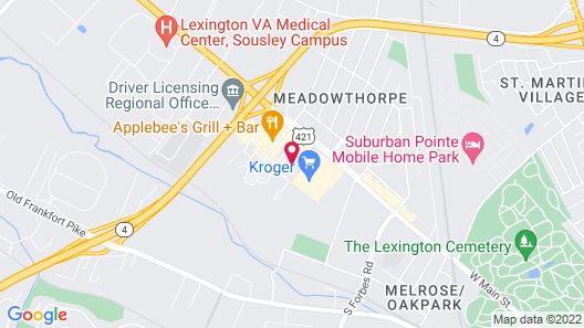 Staybridge Suites Lexington, an IHG Hotel Map