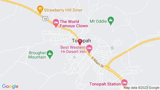 Mizpah Hotel Map
