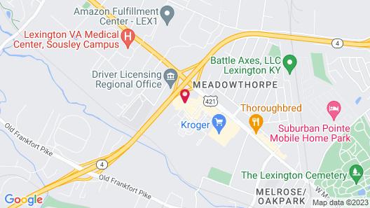 Holiday Inn Express & Suites Lexington Dtwn Area-Keenland, an IHG Hotel Map