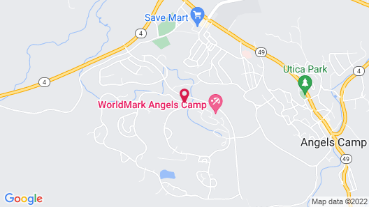 WorldMark Angels Camp Map