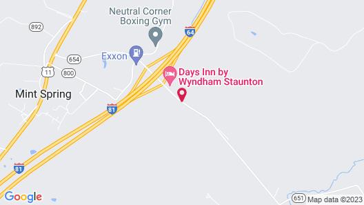 Days Inn by Wyndham Staunton Map