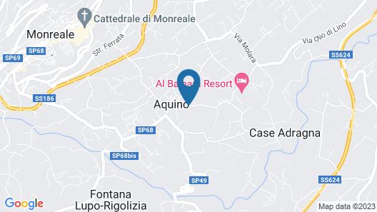 Hotel Baglio Conca D'Oro Map