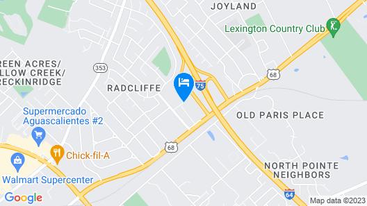 Red Roof Inn Lexington Map