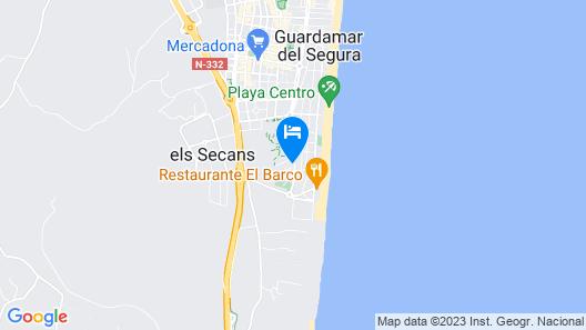 Fidalsa Beach Time Map
