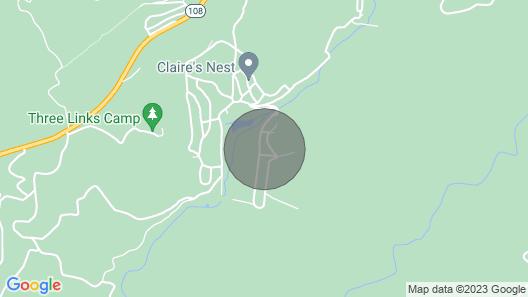 Moose Creek Lodge Near Pinecrest/dodge Ridge Wi-fi Map