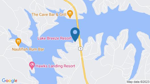 Lake Breeze Resort & Terrace Map